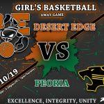Girls' Basketball takes on Peoria!