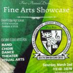 Come One, Come All! Fine Arts Showcase March 2nd