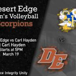 Men's Volleyball is Away at Carl Hayden