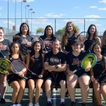 2019 Girl's Tennis Team