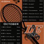 2019 Badminton Schedule