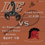 Girls Junior Varsity Badminton falls to Paradise Valley 6 – 3