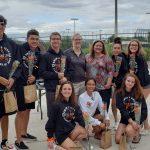 Senior Night With Swim Team 2019