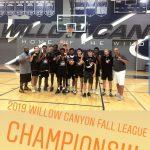 Boys Basketball Wins Willow Canyon Fall League