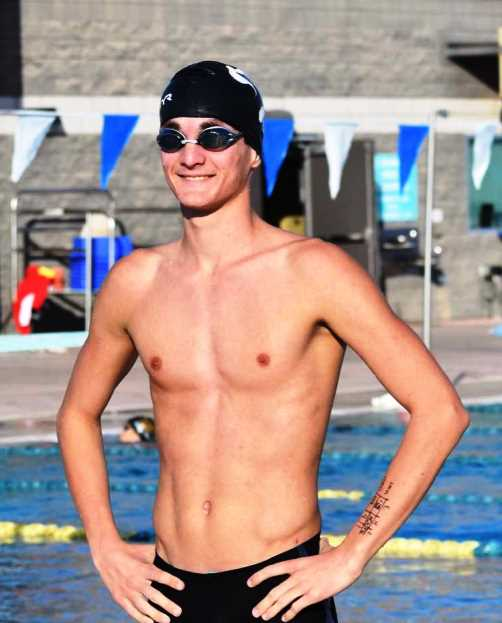 Swimmer Kale Moore shines at State