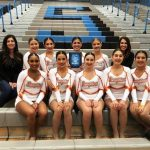 Girls Varsity Pom Pon finishes 1st place at Pom Competition