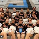 Junior Varsity Pom Pon finishes 2nd place at Pom Competition
