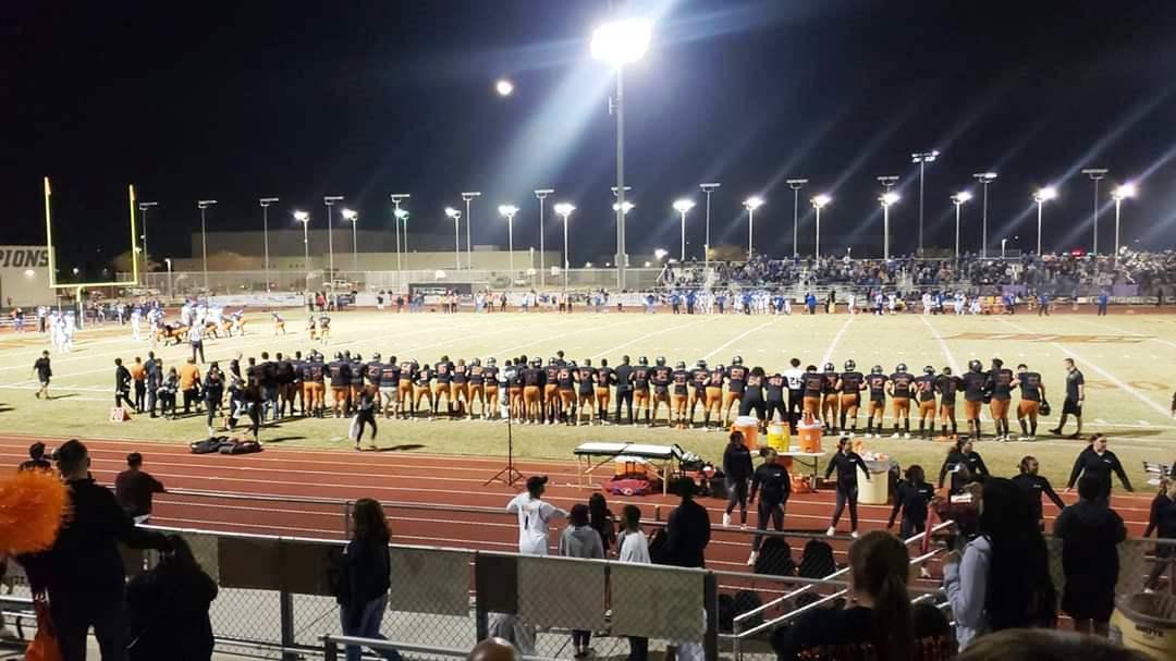 Varsity Football Advances to the Semi-Finals