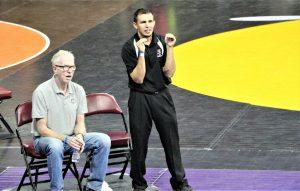 Wrestling at State Championship 2020