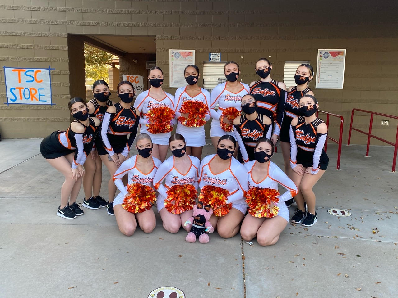Pom Teams earn 1st and 2nd place