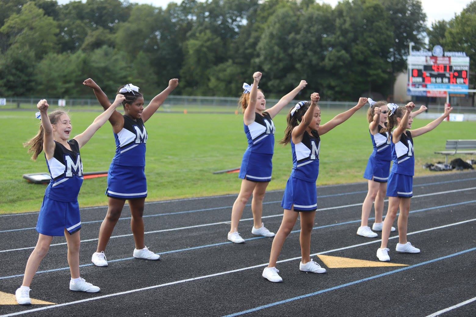 Girls 7th Grade Sideline Cheer · Sep 11 BMS Cheer: 7th grade vs Hilliard  Memorial at MHS Stadium-9/6/2017
