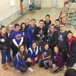 Coed Varsity Swimming finishes 1st place at Braves Invitational – Whetstone High School