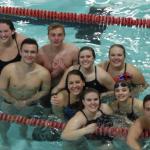 Coed Varsity Swimming falls to Thomas Worthington 95 – 69