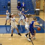 Lady Monarch Basketball loses on the road to Hilliard Davidson 43-30
