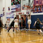 Lady Monarchs beat Cougars 69 – 18