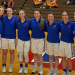 Lady Monarchs Celebrate Senior Night with 61-19 Victory over Franklin Heights