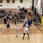 Girls Varsity Basketball beats Buckeye Valley 46 – 34