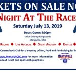 Monarch Football Night At The Races Event Tickets