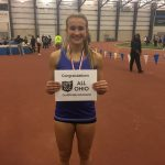 Jenna Rioch earns All Ohio honors at Indoor State Championship 800m
