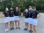 Girls Varsity Golf 3-peats at Union-Madison Co Invitational