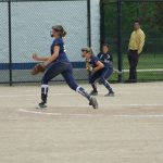 Varsity Softball Sweeps a Double-header against Catholic Central