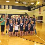 3 in a Row for Freshman Volleyball!