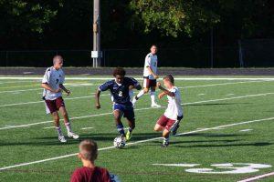JV soccer vs Holland Christian 8-20-2012