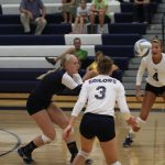 Sailor Varsity Volleyball Opens OK-Gold Play with 3-0 Sweep of Hastings