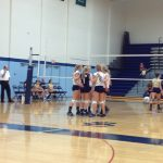 Freshman Volleyball 'On a Roll'
