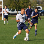 JV Soccer wins conference after final battle with Hastings.