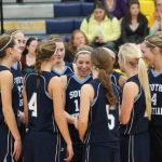 Girls Varsity Basketball holds off Wayland 46-35 to advance to Friday's District Final at SC