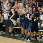 Girls Varsity Basketball heads to State Semifinals after dismantling Marshall, 53-29