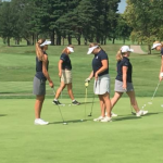 Sailor Golf earns top spot in first conference jamboree