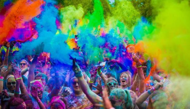 SCHS Color Burst Event Fundraiser