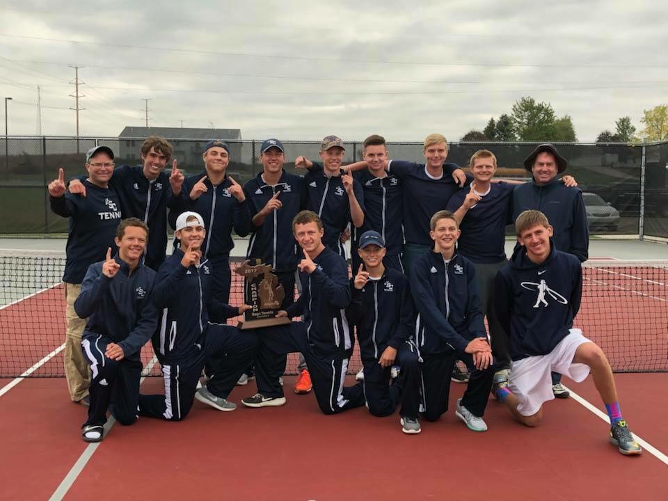 Sailor Tennis shares Regional title, qualifies for MHSAA State Finals