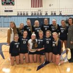 Sailor Volleyball crowned MHSAA District Champs, advance to Regionals