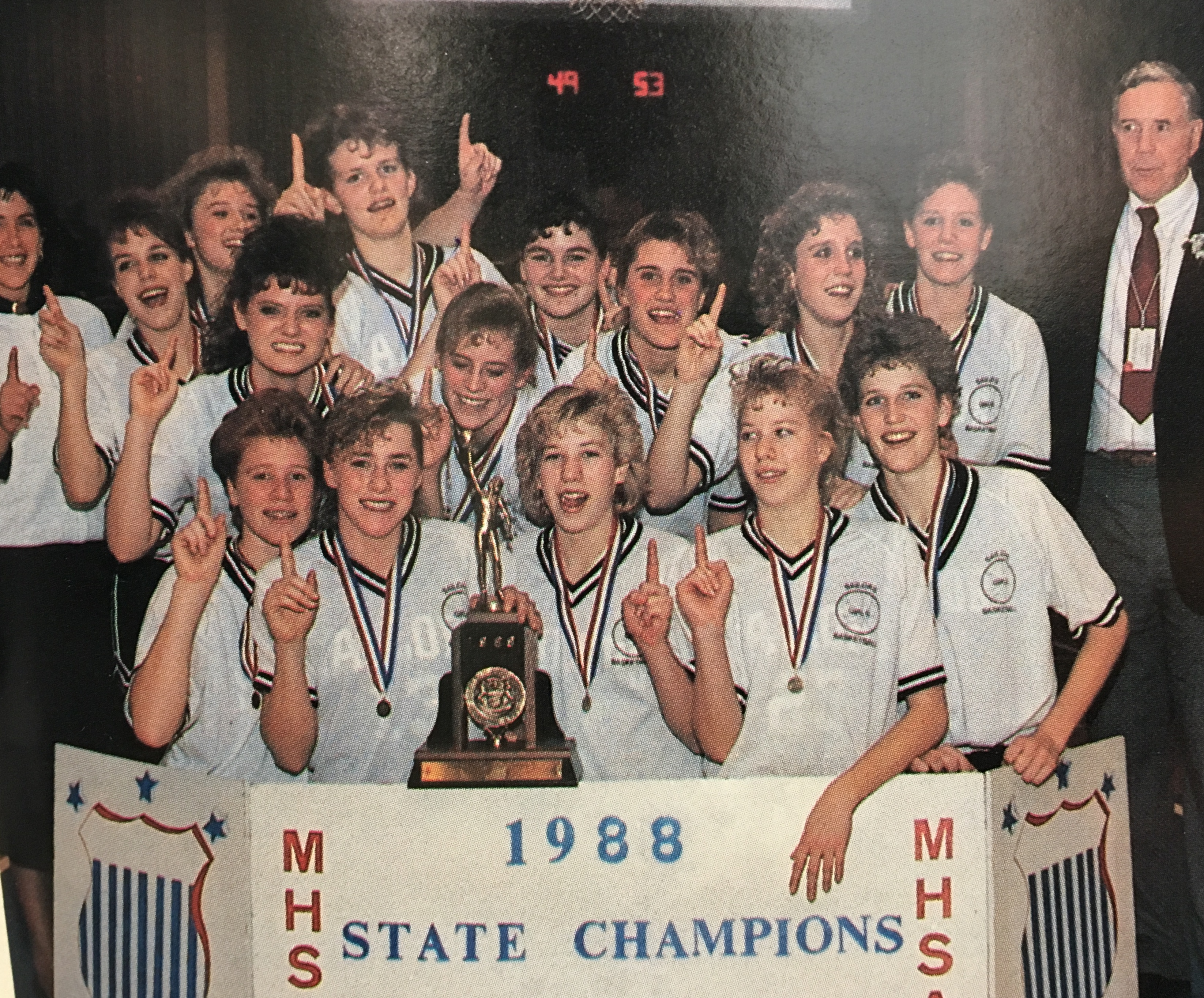 MHSAA's Legends of the Game to honor South Christian's 1988 girls state basketball team