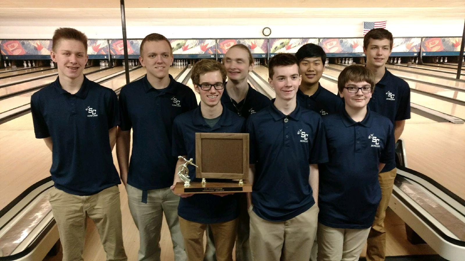 Boys Varsity Bowling claims OK Gold title