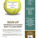 Middle School Tennis Opportunity