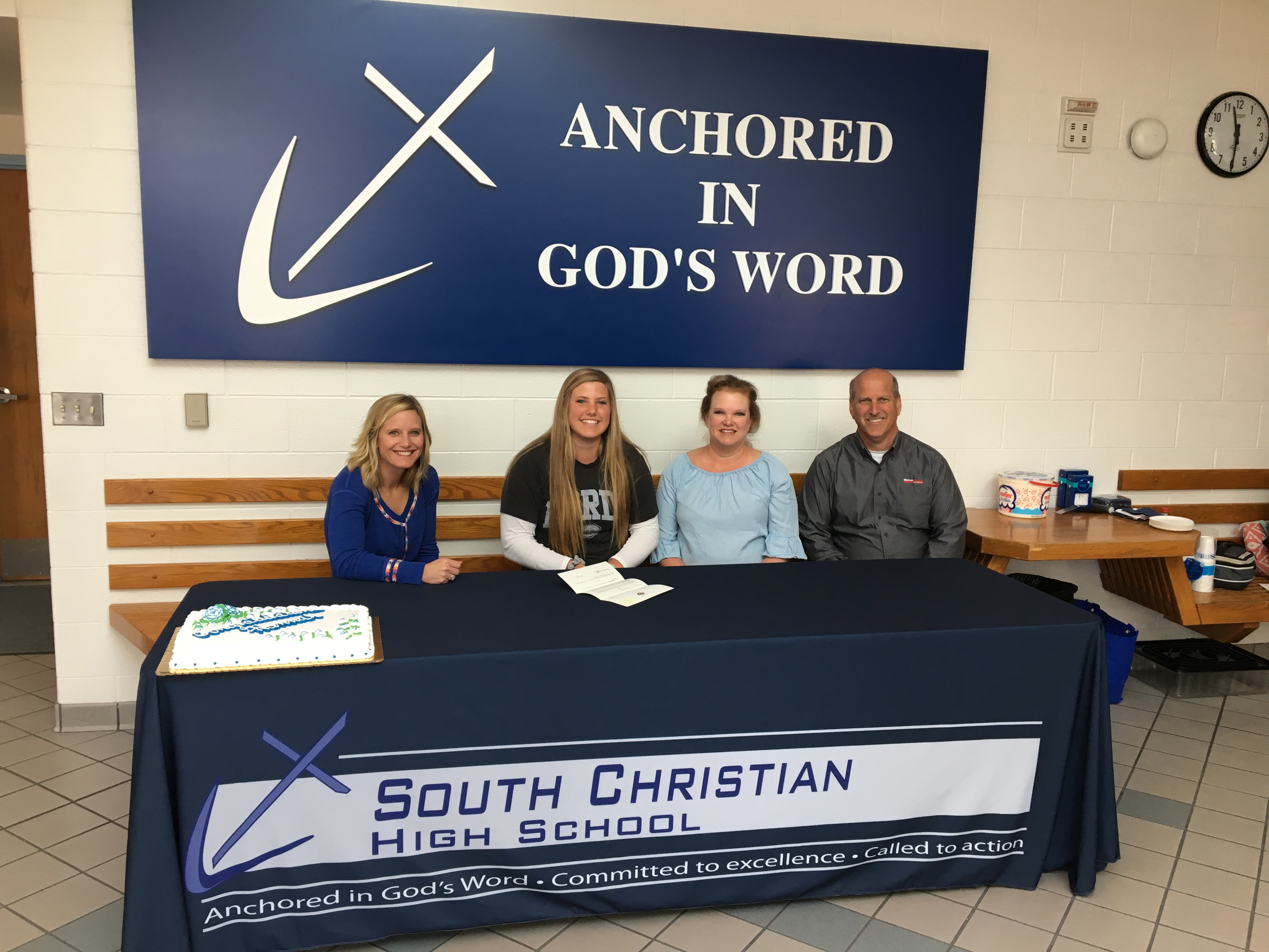 Wohlfert signs with Dordt