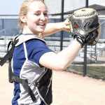 Lauren Teitsma a four-year fixture behind the plate for South Christian