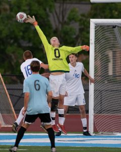 Varsity Boys Soccer vs. Wayland and GRC – Photos