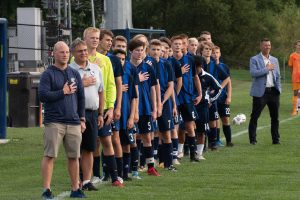 Varsity Boys Soccer vs. EGR and TK – Photos