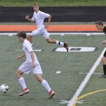 Boys JV Soccer win 7-0 vs Wayland