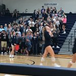 Sailor Volleyball tops Wayland in 3