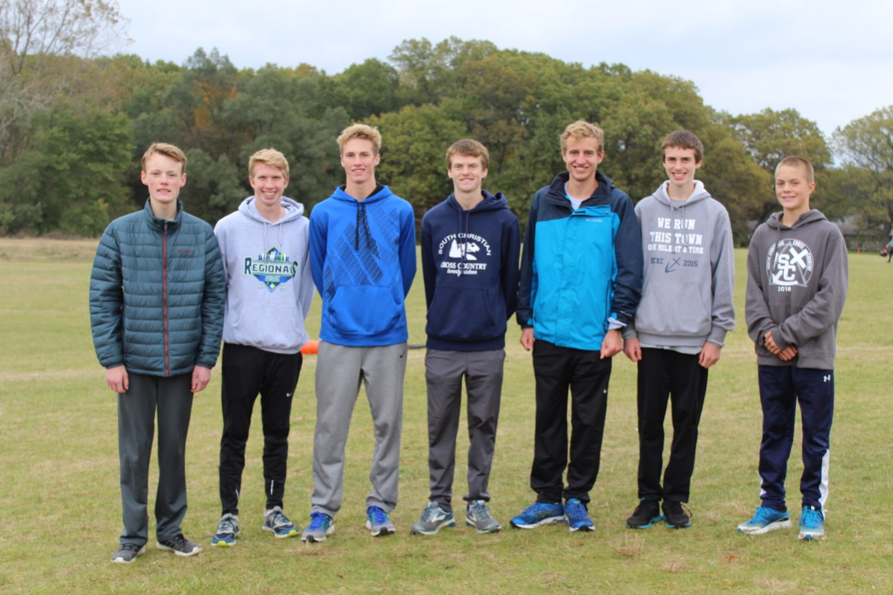 Sailor Boys XC races to State