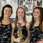 Girls Swim - Senior Night Photos
