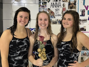 Girls Swim – Senior Night Photos