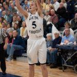 Boys Varsity Basketball beats Grand Rapids Christian High School – 56 – 50