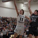 Boys Varsity Basketball beats Wyoming 77 – 70